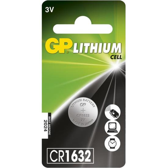 GP Batteri Lithium CR123A C1 3V 4 pk   Dustin.no